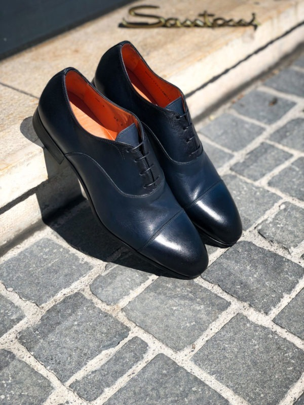SANTONI FLEXI OXFORD